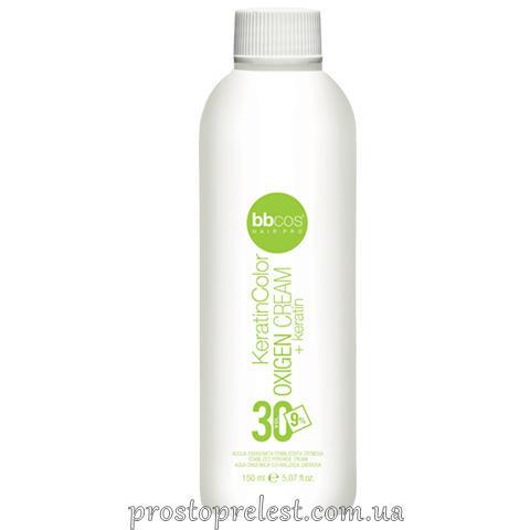 BBcos Keratin Color Oxigen Cream 30 Vol - Окислювач кремообразний 9%