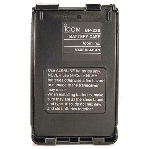 Батарейный отсек Icom BP-226
