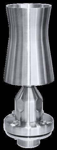 Пенная фонтанная насадка Cascade Jet MC 200.M.S.