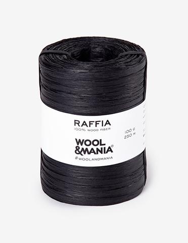 Yarn RAFFIA Black