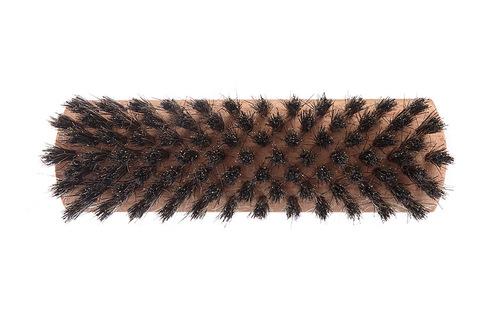 YOZHIK Щётка для обуви (140x40, чёрная натуральная щетина) фото сверху