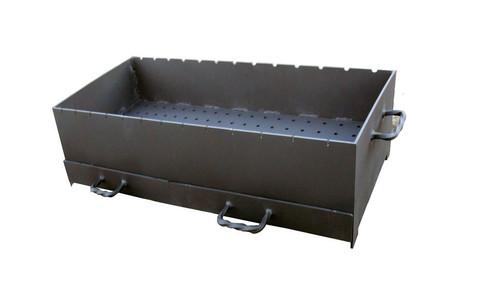 Доплата за усиленную жаровню 600мм толщиной 5мм с зольниками для мангалов ММ-20
