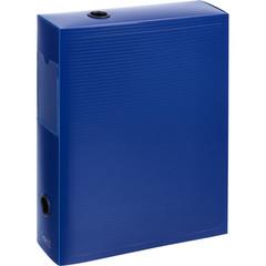 Короб архивный Attache пластик синий 245x70x330 мм