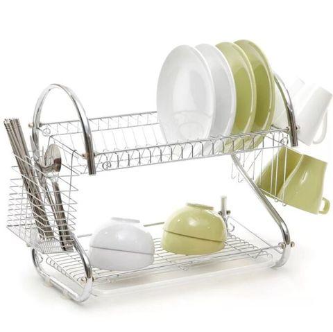 Сушилка для посуды 2 уровня wl264