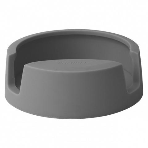 Подставка для ложки, серый (пластик)