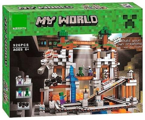 Конструктор My World 10179 Шахта