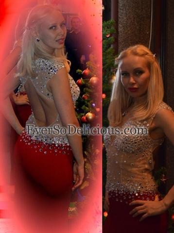 Олеся в платье Jovani 74234