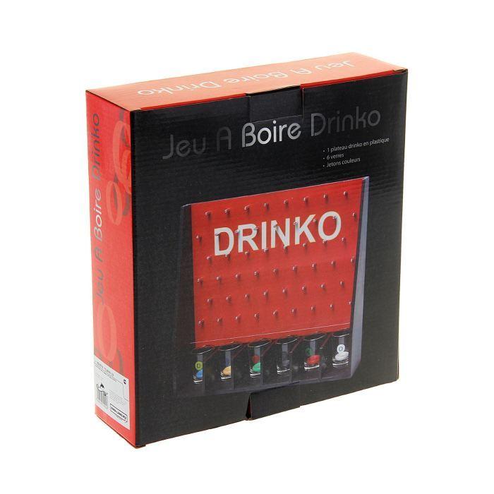 Пьяная игра Drinko: 6 рюмок