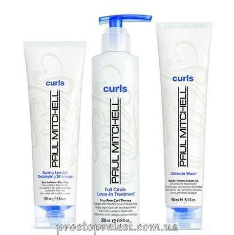 Paul Mitchell Curls Stay Calm And Curl On Gift Set - Косметический набор для вьющихся волос