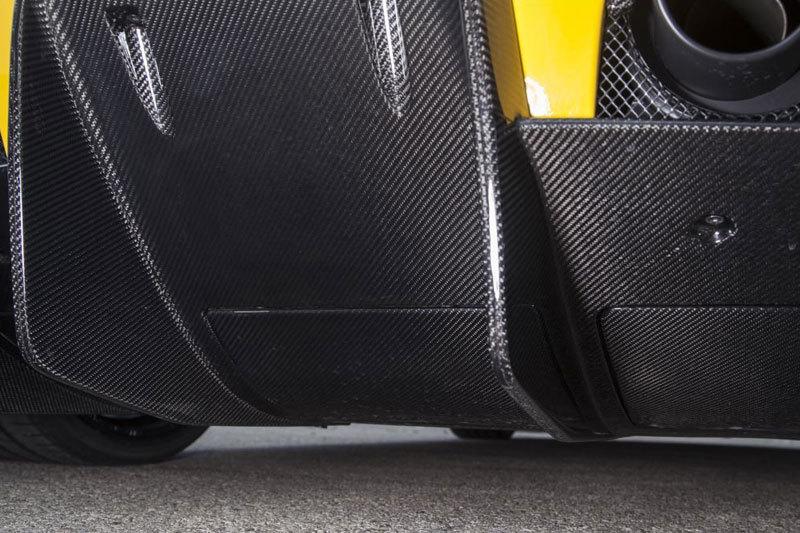 Карбоновые вставки в диффузор нижние для Ferrari 458 Speciale