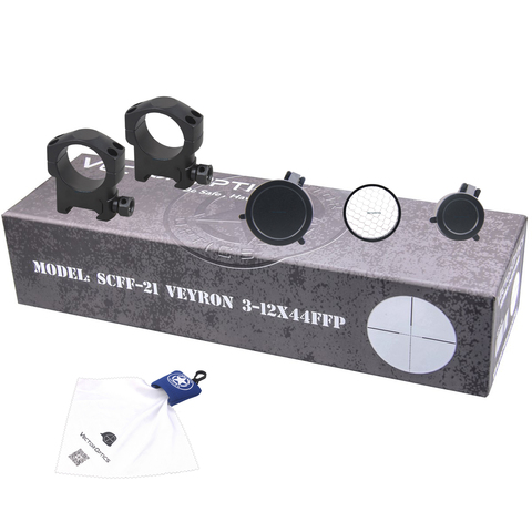 VECTOR OPTICS VEYRON 3-12X44 SFP