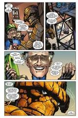 Стэн Ли встречает героев Marvel (Обложка Старкон)