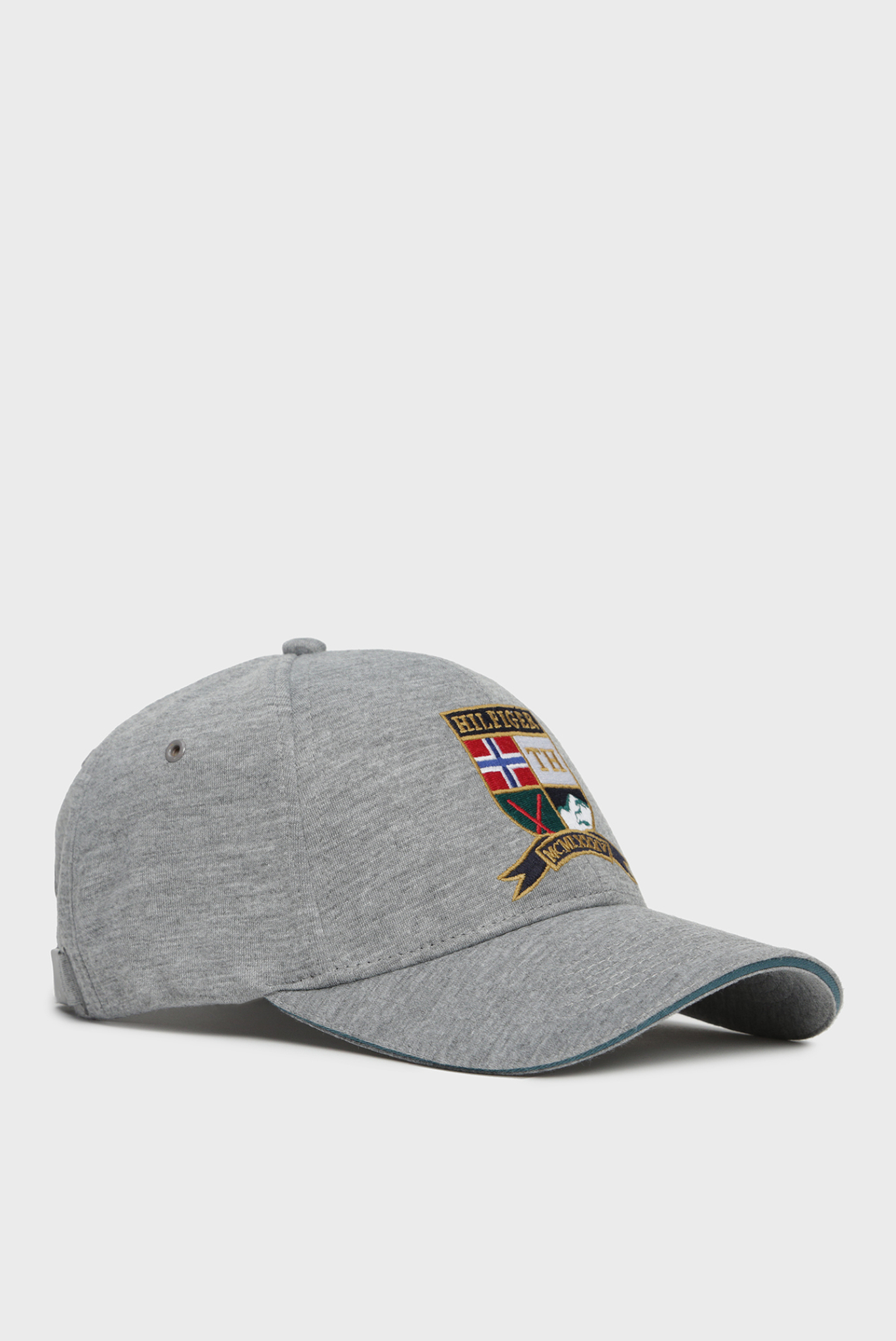 Мужская серая кепка CREST Tommy Hilfiger