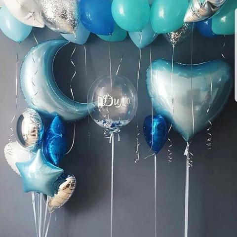 Набор из воздушных шаров на выписку для мальчика №3