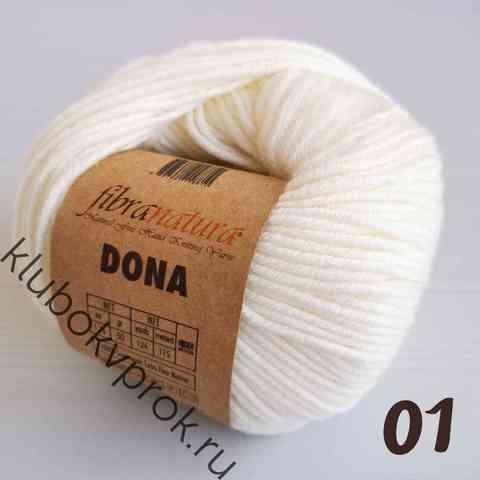 FIBRA NATURA DONA 106-01, Белый