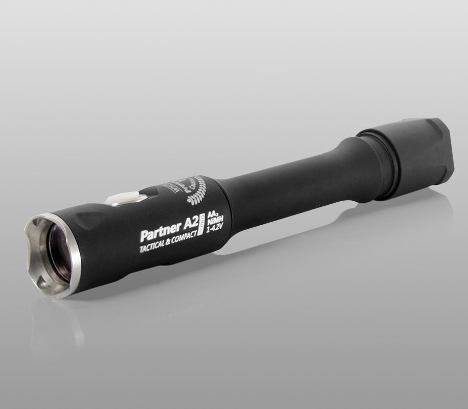 Тактический фонарь Armytek Partner A2 Pro (тёплый свет) - фото 1
