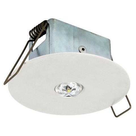 Аварийный встраиваемый светодиодный светильник для открытых зон EYE/O LED Round Awex