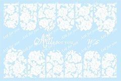 Слайдер наклейки Arti for you цвет белый №W5