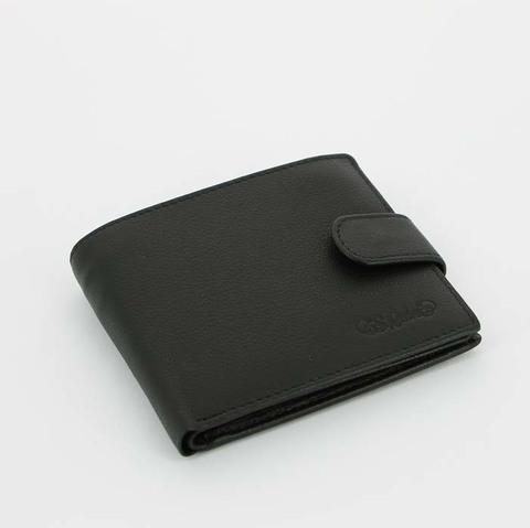 Портмоне S.Quire 4400-BK Soft черный наппа
