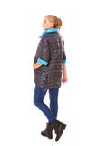 Куртка для беременных 07351 черный/синий