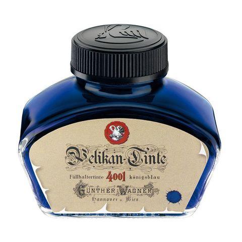 Флакон с чернилами Pelikan INK 4001 Historic (PL340299) Royal Blue чернила синие чернила 62.5мл для ручек перьевых