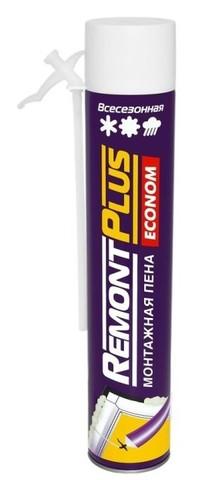 Пена монтажная всесезонная Remont Plus 750мл (553гр)