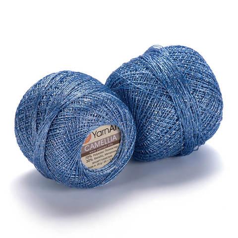 Пряжа Camellia (Камелия) Голубой. Артикул: 417