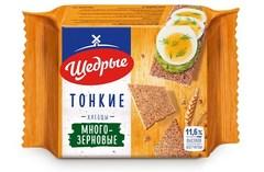 Хлебцы «Щедрые» многозерновые тонкие 170г*24 ТУ