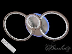 Светодиодная  LED-люстра с пультом, диммером и подсветкой, 75W