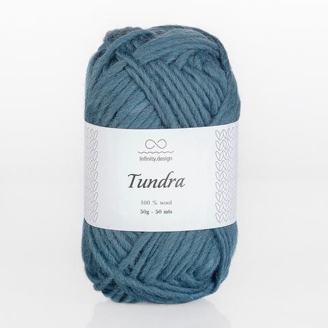 Пряжа Infinity Tundra 6545 петроль