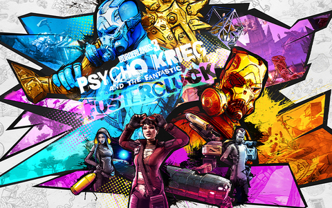Borderlands 3: Psycho Krieg and the Fantastic Fustercluck (Epic Games) (для ПК, цифровой ключ)