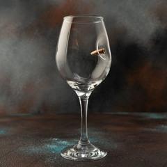 Бокал для вина с пулей, фото 3