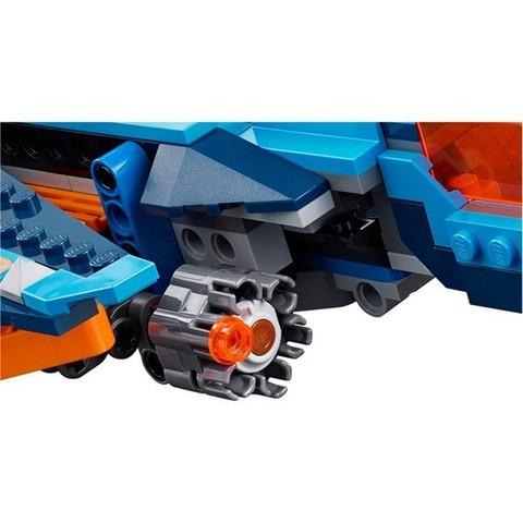 LEGO Nexo Knights: Самолёт-истребитель Сокол Клэя 70351 — Clay's Falcon Fighter Blaster — Лего Нексо найтс Рыцари