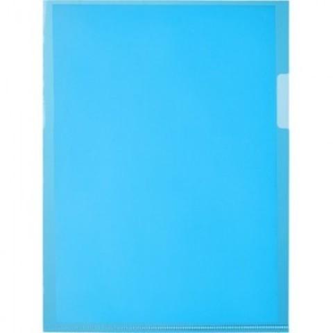 Папка-уголок Attache А5 синяя (20 штук в упаковке)