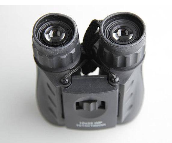 Бинокль Veber 10x25 WP черный - фото 2