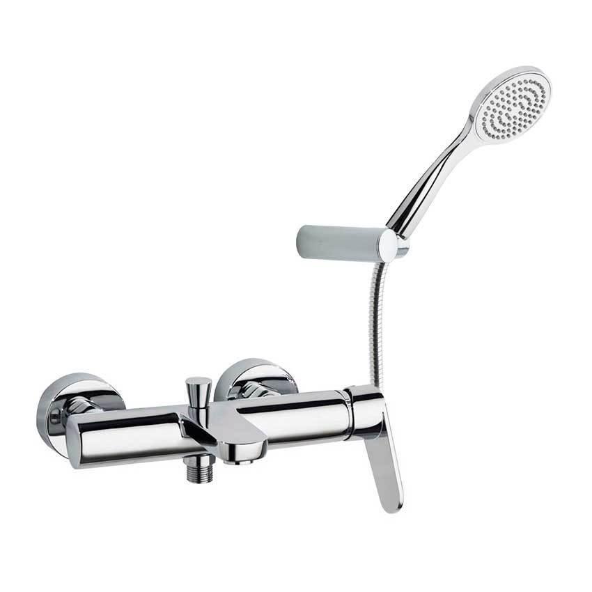 Смеситель для ванны с изливом и душевым комплектом ALEXIA 3605T1