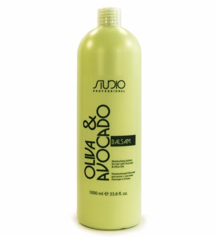 Kapous, Бальзам для волос с маслами авокадо и оливы, 1000 мл