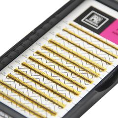 Ресницы Perfect solution готовые пучки 2D (12 линий)