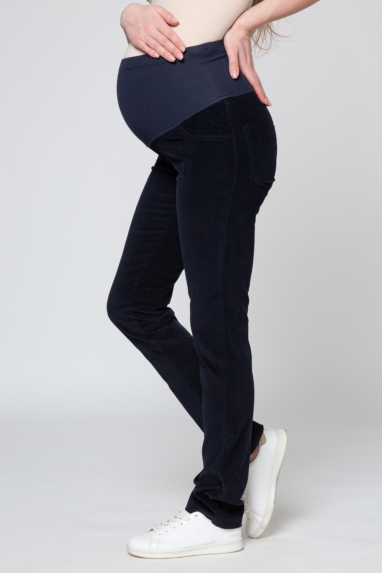 Брюки для беременных 03169 синий