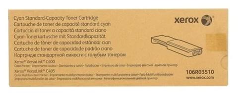 Оригинальный картридж Xerox 106R03510 голубой