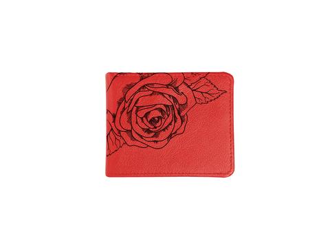 """Купюрница """"Красные розы"""", красная"""