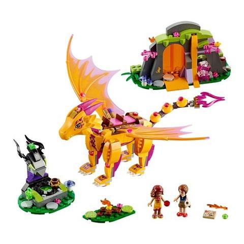 LEGO Elves: Лавовая пещера дракона огня 41175 — Fire Dragon's Lava Cave — Лего Эльфы