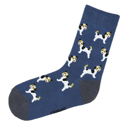 Носки с щенками