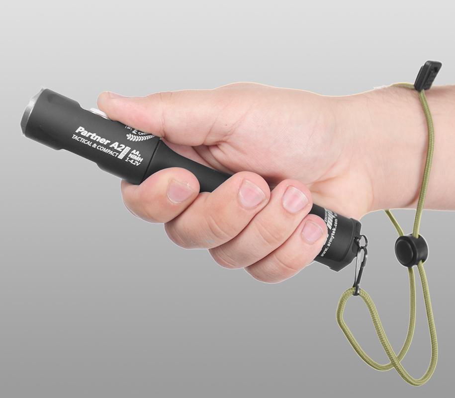Тактический фонарь Armytek Partner A2 Pro (тёплый свет) - фото 2