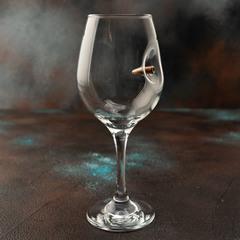 Бокал для вина с пулей, фото 1
