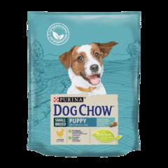 Dog Chow Puppy Small Сухой корм для щенков мелких пород с Курицей