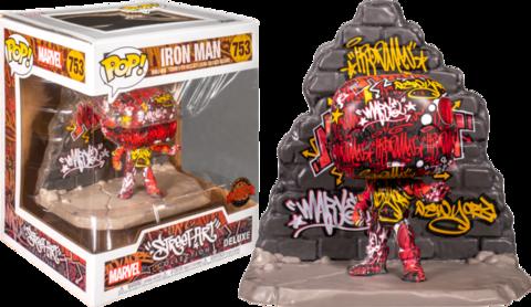 Iron Man Street Art Collection Deluxe Funko Pop! Vinyl Figure || Железный Человек