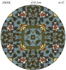Эскиз для росписи, Круг диаметр-47,5см, SMAR-st-37