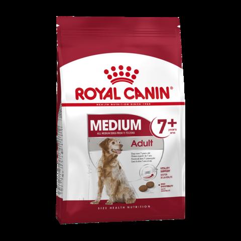 Royal Canin Medium Adult 7+ Сухой корм для пожилых собак средних пород 7-10 лет