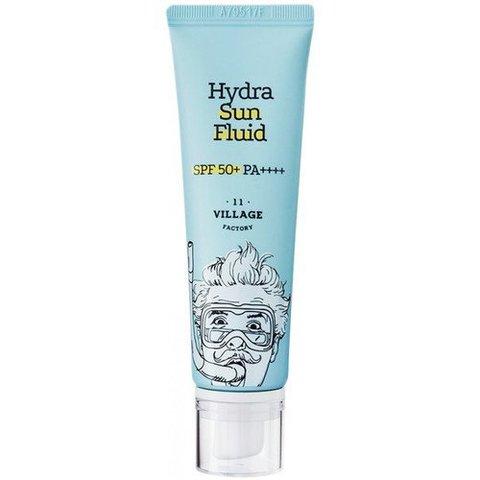 VILLAGE 11 FACTORY Hydra Sun Fluid SPF50+ PA++++